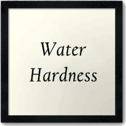 water hardness removal